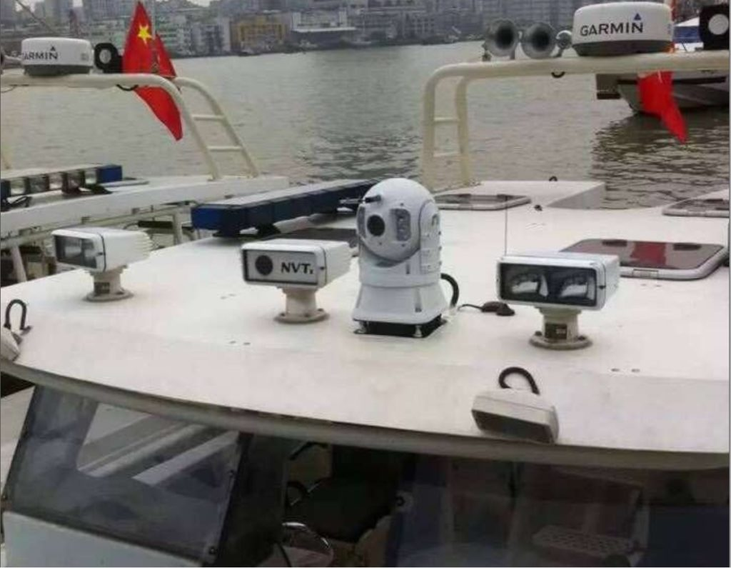 Rugged PTZ Camera is used for Boats,Marine